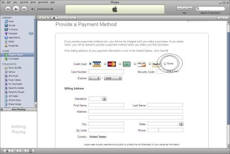 Carte Bleue Zip.Create Free Itunes Account Without Credit Card The Apple Daily